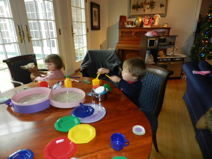 One of Many Christmas Day Tea Parties