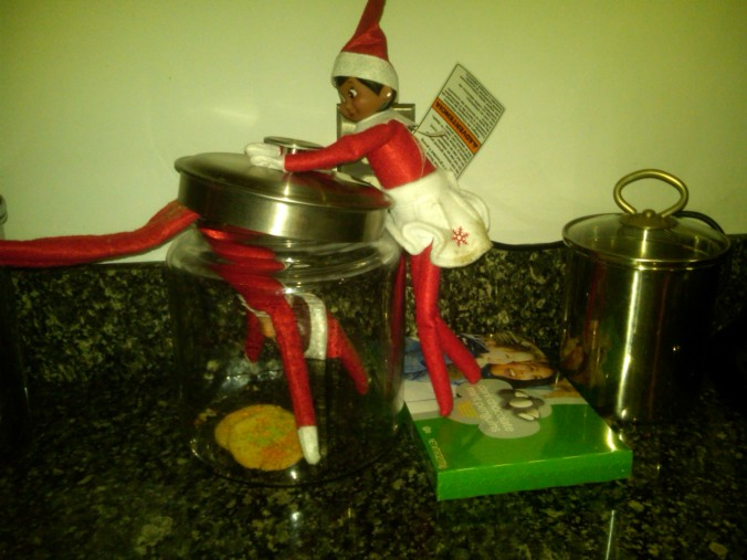 Caught in the cookie jar!