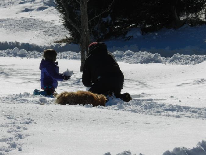 Grandad, Angel and Dog